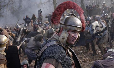men war centurion lucius vorenus helmet armor movies rome