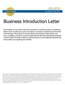 Business Letter Sample Introduction Company new business introduction sample letter sample business letter