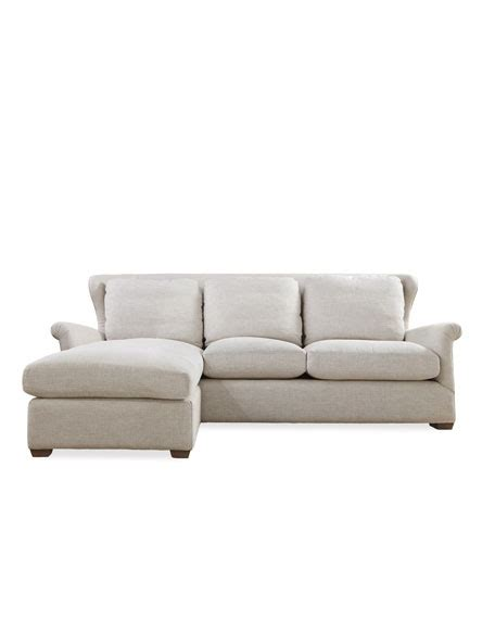 linen section queen buckwheat linen sectional