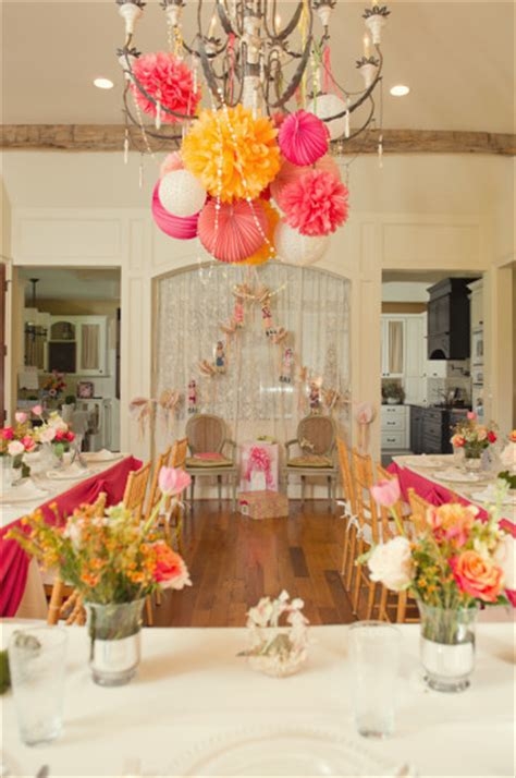 Pink And Orange Baby Shower by Baby Shower Ideas