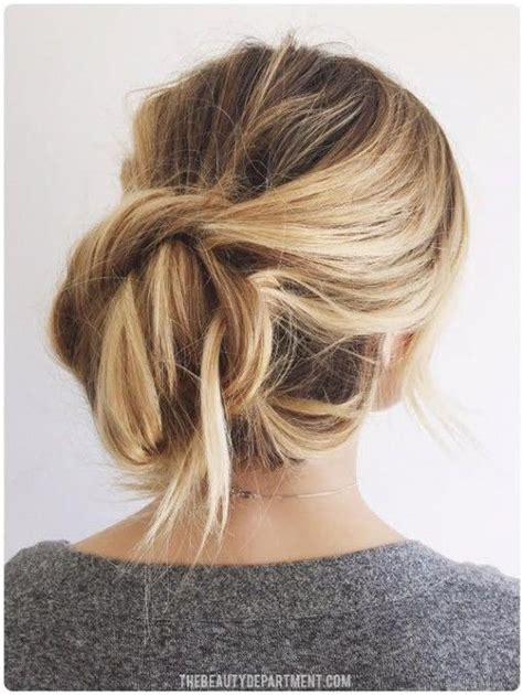 Easiest Hairstyles by Top 10 Easy Updo Hairstyles Pinned And Repinned