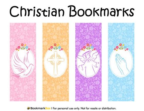 christian bookmark template crosses templates and graphics on