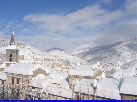 scanno web abruzzo e molise sommersi di neve incredibili immagini