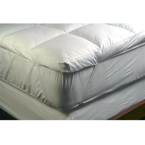 down bed topper the soft bedding company feather down mattress topper