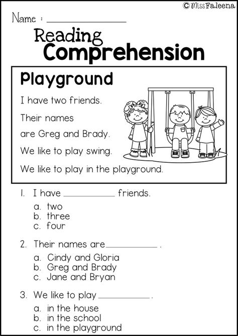 free reading comprehension practice miss faleena s store
