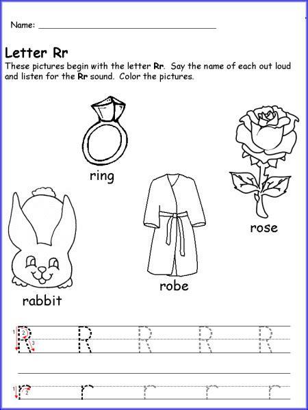 kindergarten cancellation letter writing letter r worksheet kindergarten pre k