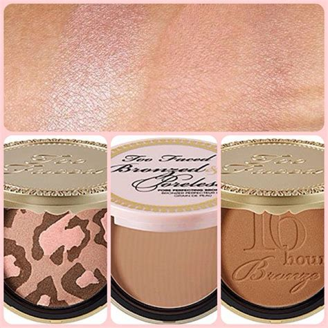 Faced Pink Leopard Bronzing Powder by Faced Bronzer Reviews Pink Leopard Bronzed And
