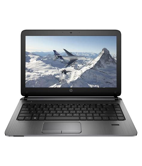 Laptop I3 Ram 4gb hp probook 440 g2 j8t90pt laptop 4th intel i3 4gb ram 500gb hdd 35 56cm 14 dos