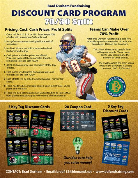 discount card supplies tennessee s best fundraising choice