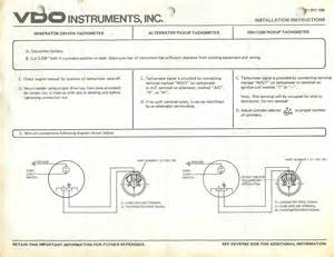 vw vdo tach wiring diagram get free image about wiring