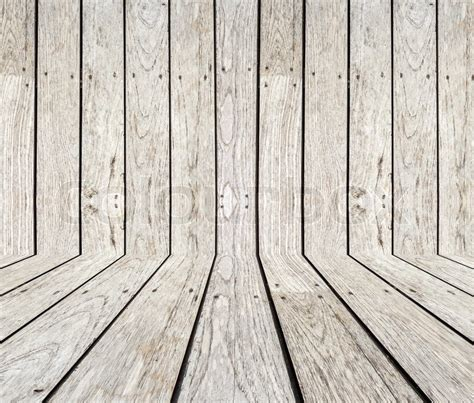 Deck Box Wood by Grey Timber Decking Background And Texture Stock Photo