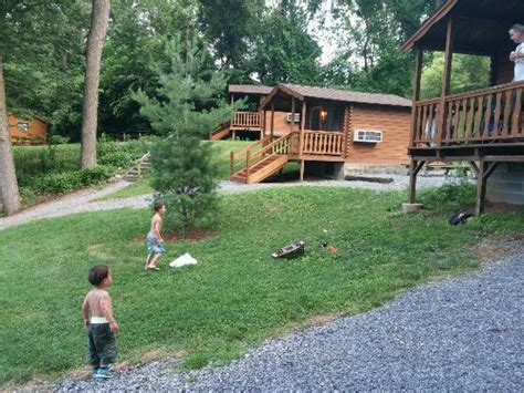 Cabins Near Hershey Park by Grassy Area In Front Of The Cabin Picture Of Hersheypark Cing Resort Hummelstown Tripadvisor