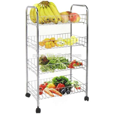3 Tier Fruit Basket Floor Stand by Floor Standing Upright 3 Tiered Metal Fruit Stand Holder Buy 3 Tiered Metal Fruit Stand Holder