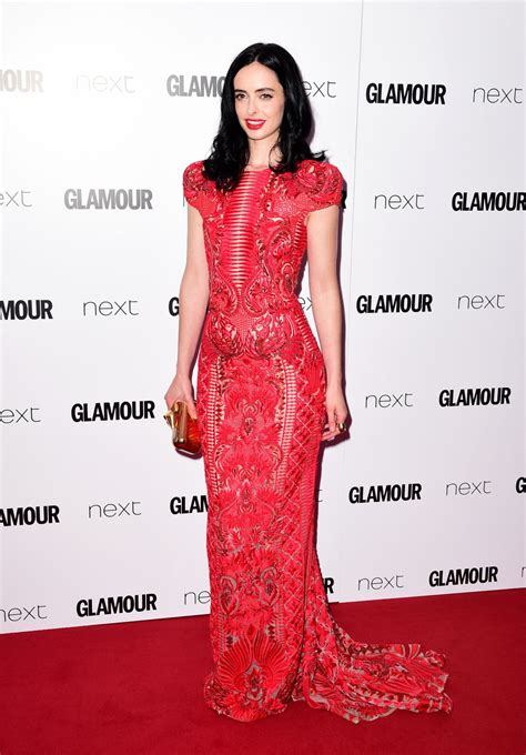 Glam Awards by Krysten Ritter At Of The Year Awards 2016 In