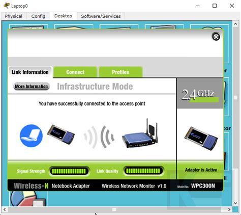Jaringan Wifi menghubungkan laptop cisco ke jaringan wifi komunologi