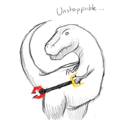 T Rex Unstoppable Meme - unstoppable t rex jpegy what the internet was meant for