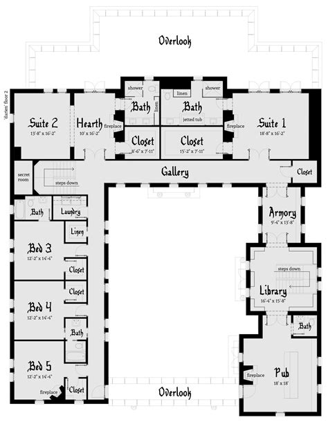 design house layout darien castle plan tyree house plans
