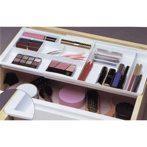 Divided Drawer Organizer drawer doubler divided organizer white in cosmetic drawer organizers