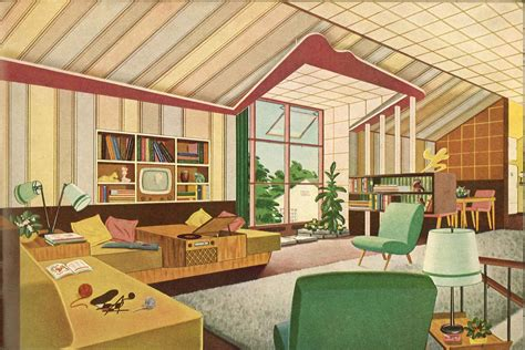 mid century modern interior design mid century design