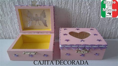 como decorar ina caja diy como decorar cajita para regalo youtube
