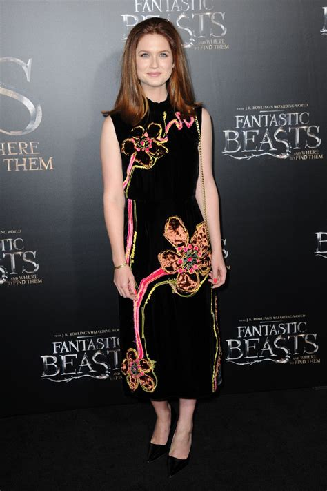 New York Premiere Of Antoinette by Bonnie Wright Fantastic Beasts And Where To Find Them