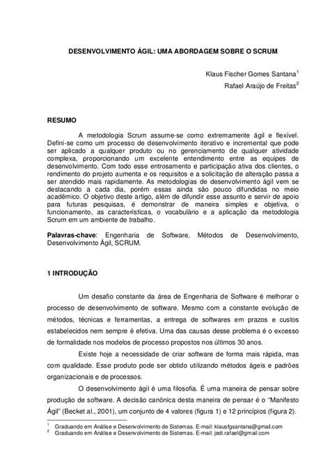 Agil - artigo cientifico
