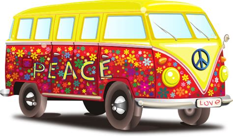 volkswagen hippie van clipart hippy vw bus clip art at clker com vector clip art