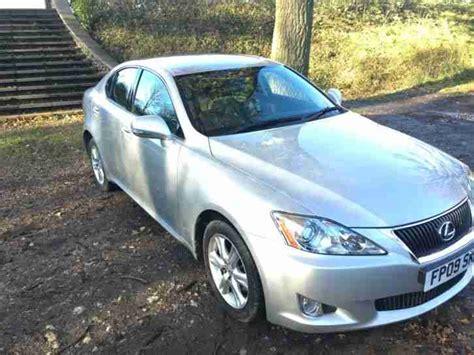 silver lexus 2009 lexus 2009 is 220d se silver part ex to clear car for sale
