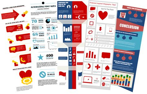 free infographic template five free infographic templates