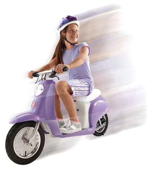 razor electric scooter for 10 year old girls amazon com razor pocket mod betty electric sports