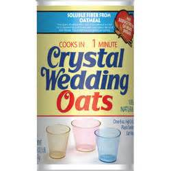 wedding oats quaker oats