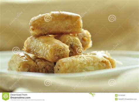 Arabic Sweet Baklava Roll Mixnut arabic sweet baklava stock photo image of arabic happiness 31181650