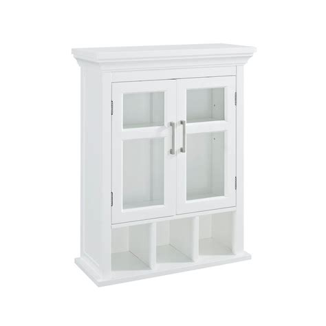 Simpli Home Avington 23 63 100 In W X 30 In H X 10 In D Tempered Glass Cabinet Doors