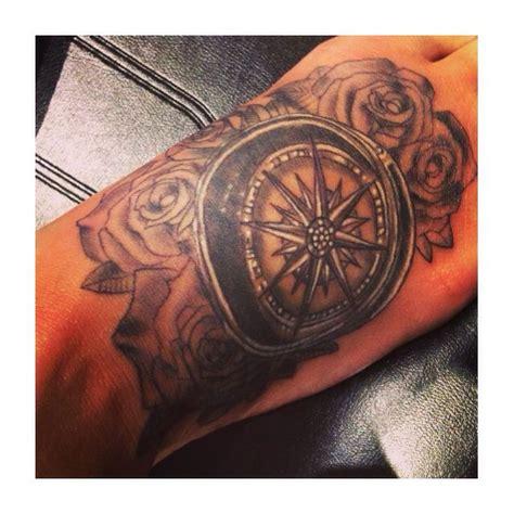rose garden tattoo foot of a compass in a garden ideas