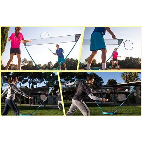 backyard badminton set portable badminton set outdoor badminton net courts