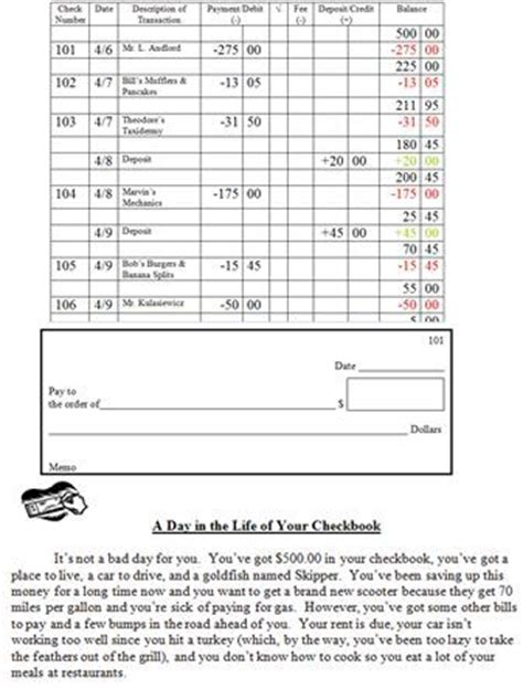 Writing Checks Worksheet by 3 This Check Writing Worksheet Will Give Students