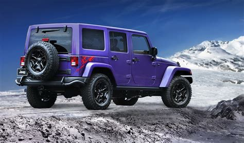 In A Jeep Jeep Sends The Wrangler Jk With New Special Editions