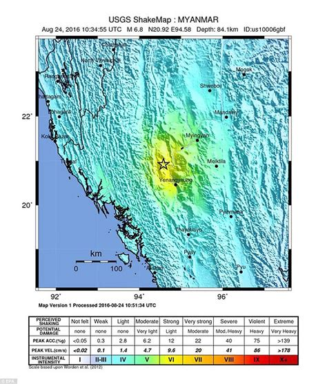 earthquake questionnaire earthquake of 6 8 magnitude strikes central myanmar