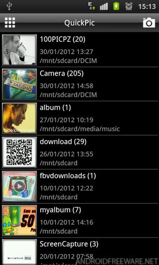 quickpic apk free quickpic free android app android freeware