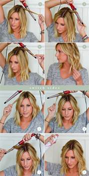 ideas to to your hair with a wand how to use a curling wand