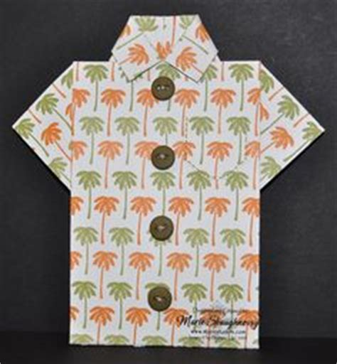 hawaiian shirt card template hawaiian shirt template crafts shirts