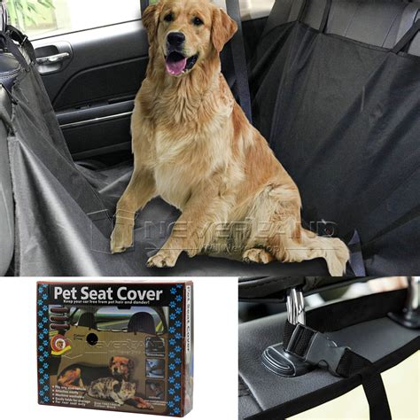 Covers Pets by Pet Car Suv Back Rear Bench Seat Mat Cover Waterproof