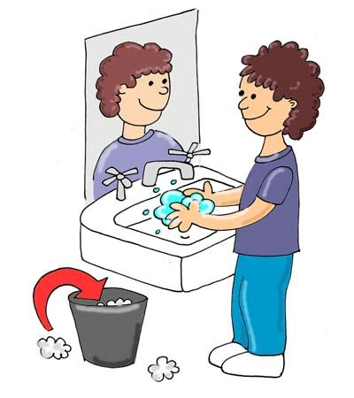 bathroom cartoon pictures washing hands cartoon clipart best