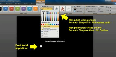 cara membuat power point sederhana cara membuat efek loading sederhana pada power point