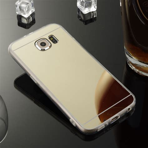 Silico Siamond Mirror Samsung J7 mirror rubber ultra thin rugged cover for samsung galaxy j7 v perx j727 ebay