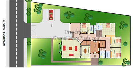 Master Bath Floor Plan by Ghana House Plans Cece House Plan