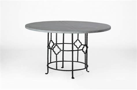 Wood And Iron Round Dining Table King Table Gabby King Dining Table