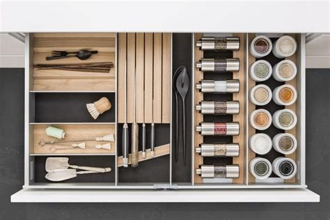 Kitchen Drawer Systems by Aluminium Kitchen Accessory Sliding Drawer System By Siematic