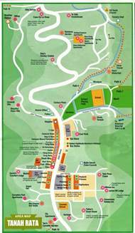 cameron map cameron highland travel guide taman negara travel