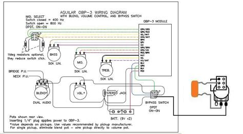Adding Passive Circuit To An Aguilar Obp 3 How To